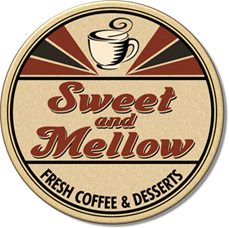 Sweet and Mellow Truck Logo, Bay Area Gourmet Coffee Truck and Wholesome Snack Truck